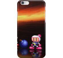 Bomberman - Panic Bomber pixel art iPhone Case/Skin