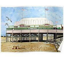 """Britain's Shortest Pier"" - Burnham-on-Sea Poster"