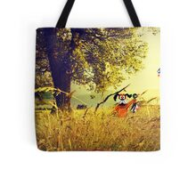 Nintendo Duck Hunt (no HUD) retro pixel art Tote Bag