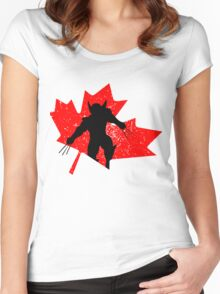 Canadian Wolverine Women's Fitted Scoop T-Shirt