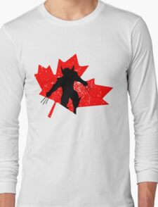 Canadian Wolverine Long Sleeve T-Shirt