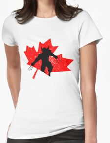 Canadian Wolverine Womens Fitted T-Shirt