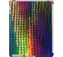 Rainbow knit  iPad Case/Skin