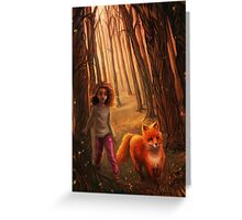 The Fox in the Forest Greeting Card