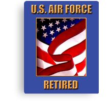 U.S. Air Force, Retired Canvas Print