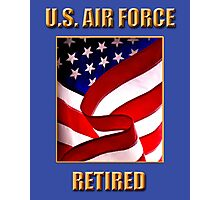 U.S. Air Force, Retired Photographic Print