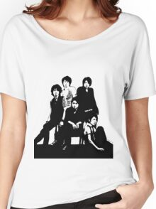 [J-POP DESIGNS] ARASHI BAND Women's Relaxed Fit T-Shirt