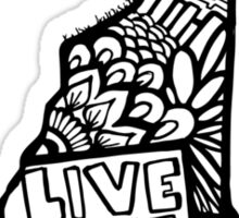 603_LiveFree Sticker