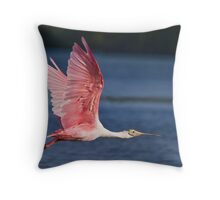 The exquisiteness of pink Throw Pillow
