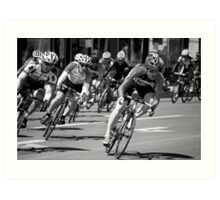 Tour of the Gila Criterium Race 2010 Art Print