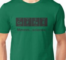 Periodic Table of Coffee - Black Unisex T-Shirt