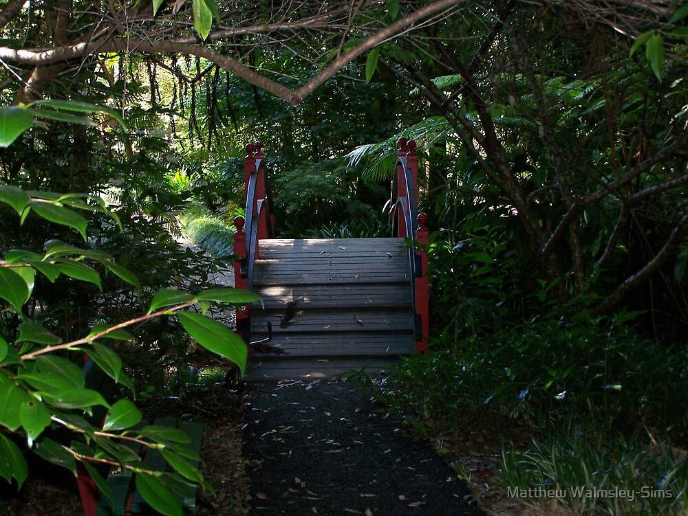 Walking Bridge by Matthew Walmsley-Sims