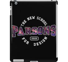 Parsons - the new school for design firework print iPad Case/Skin