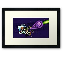 Adventure Wars Framed Print