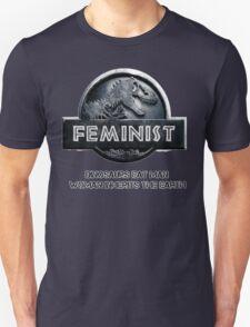 Jurassic Feminist Unisex T-Shirt