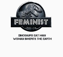 Jurassic Feminist Men's Baseball ¾ T-Shirt