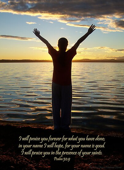 ~ I will praise You forever ~ by Donna Keevers Driver