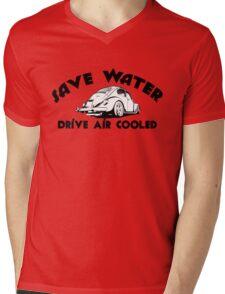 Save Water Drive Air Cooled Mens V-Neck T-Shirt