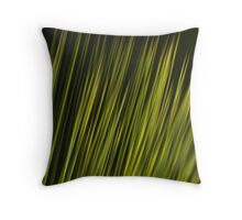 Grass Tree Throw Pillow