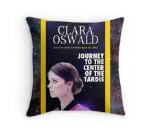 Clara Oswald on National Geographic Throw Pillow