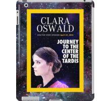 Clara Oswald on National Geographic iPad Case/Skin