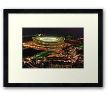 Cape Town Stadium Framed Print