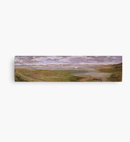 Nature Reserve Hayling Island Canvas Print
