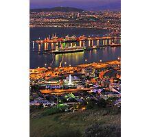 Cape Town CBD & Harbour Photographic Print