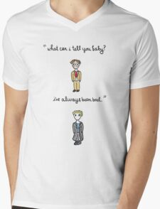Fool For Love Spike Quote Mens V-Neck T-Shirt