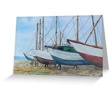 Boats Malta Greeting Card