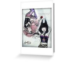 The Timekeepers Greeting Card