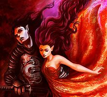 Hades and Persephone  by Christy Tortland
