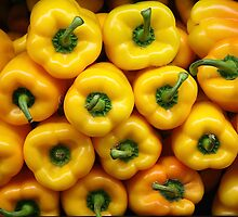 Fresh Produce - Yellow Peppers by Paulette1021