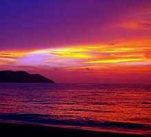 The Day Ends Purple by Feesbay
