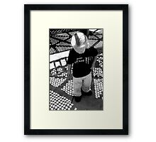 Shadowplay: Playing in Shadows Framed Print