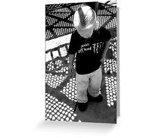 Shadowplay: Playing in Shadows Greeting Card