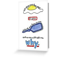 The Body Quote (BtVS) Greeting Card