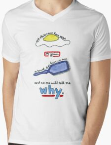 The Body Quote (BtVS) Mens V-Neck T-Shirt