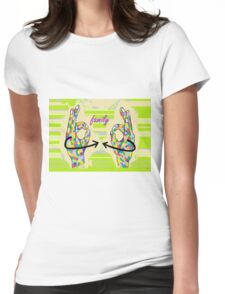 American Sign Language FAMILY Womens Fitted T-Shirt