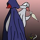 bandit birds do cloak and dagger by Soxy Fleming