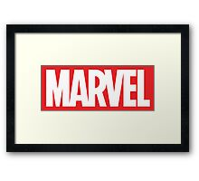Marvel Logo Framed Print