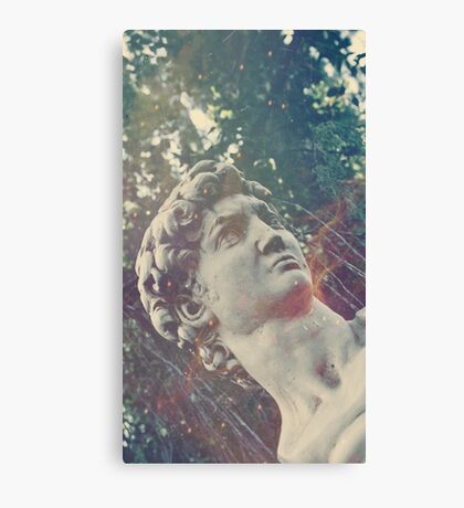 Haunted Bust Canvas Print