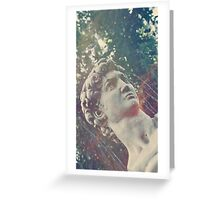 Haunted Bust Greeting Card