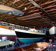 Wooden Boats by shartenstine
