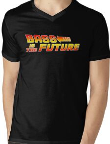 Bass is the Future Mens V-Neck T-Shirt