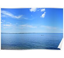 Blue Sky Sunny Day I Poster