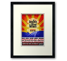Ipswich Flood Benefit Framed Print