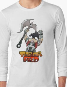 Top or Feed  Long Sleeve T-Shirt