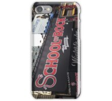 School of Rock Marquee iPhone Case/Skin