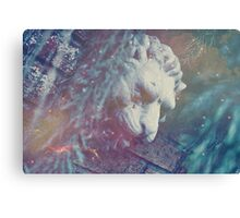 Haunted Lion Canvas Print